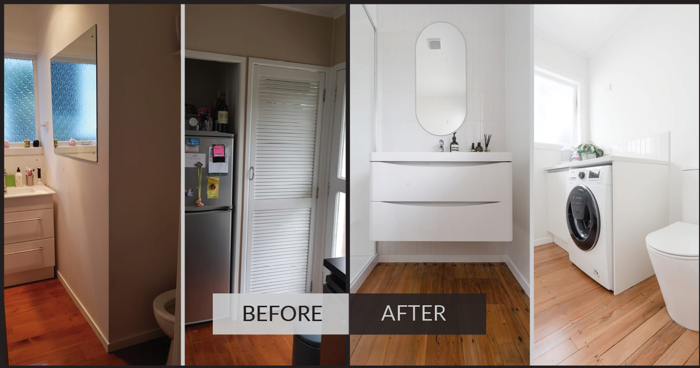 bathroom renovation in east Auckland by Maintain to Profit renovations south east Auckland