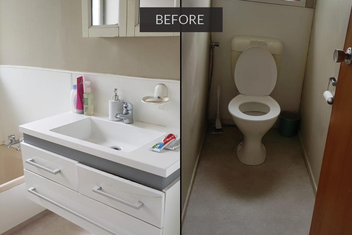 bathroom before renovation - Manurewa-south Auckland