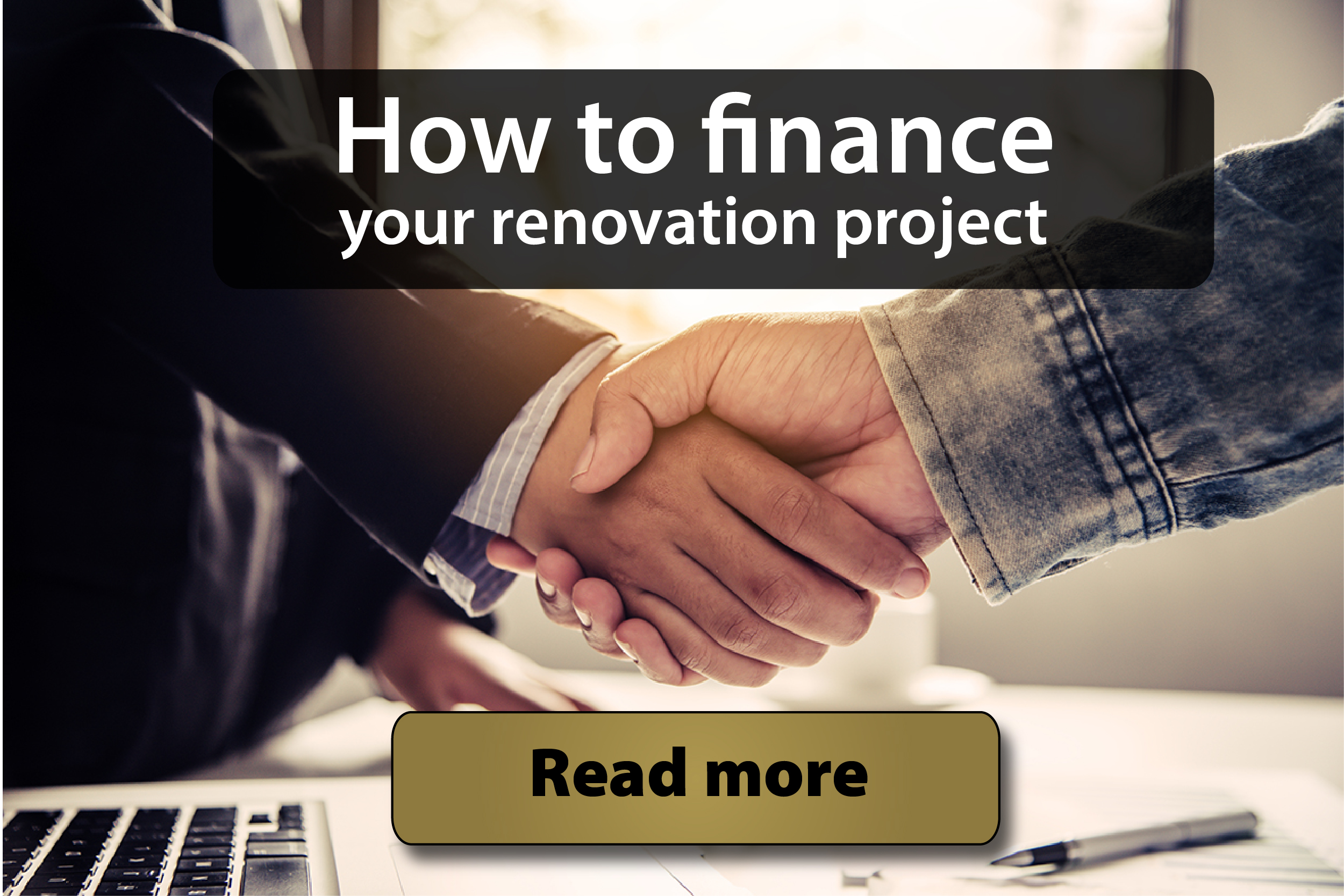 How to finance your renovation project-banner