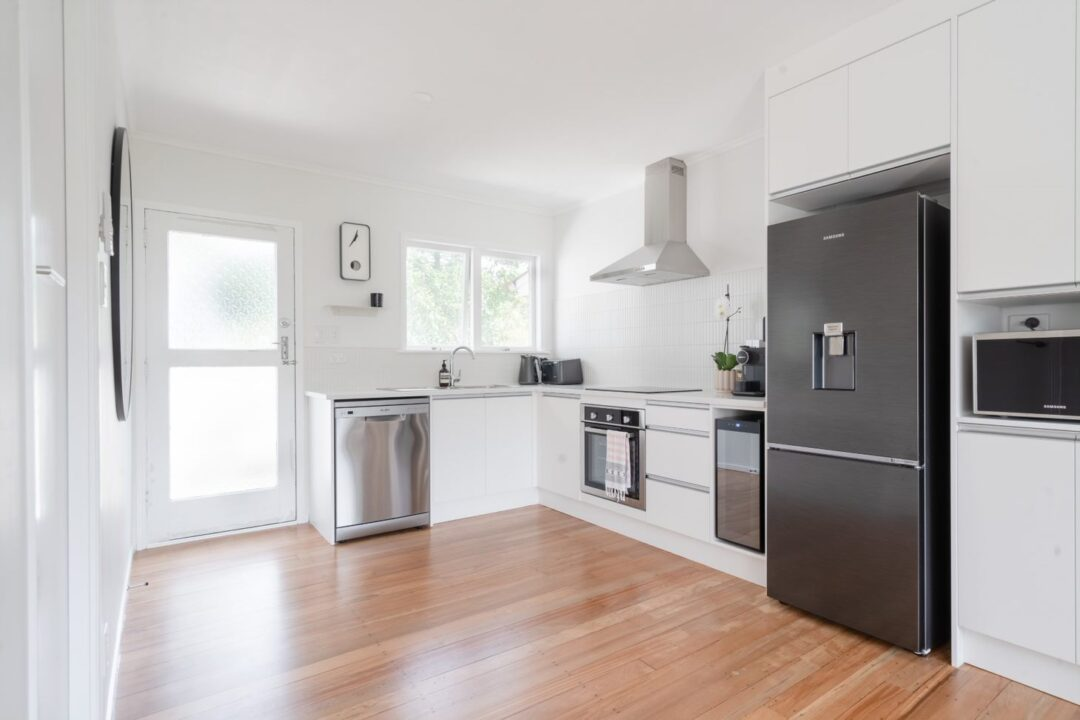renovated kitchen - Cockle Bay, east Auckland