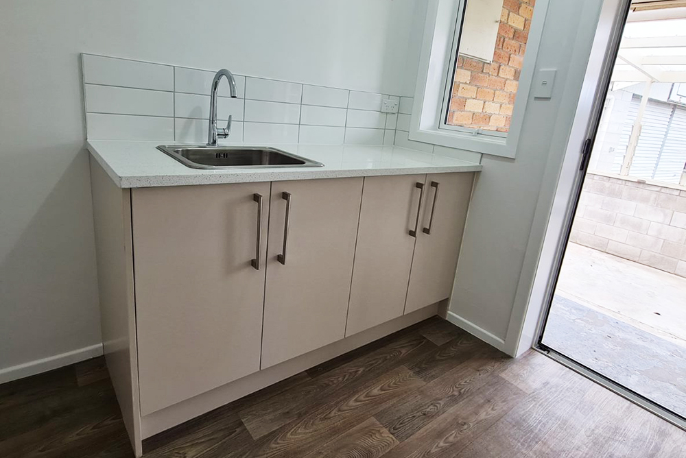 renovated laundry - south Auckland