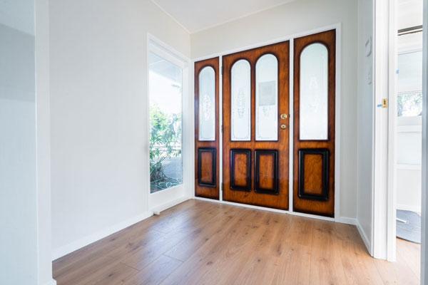renovated entrance door