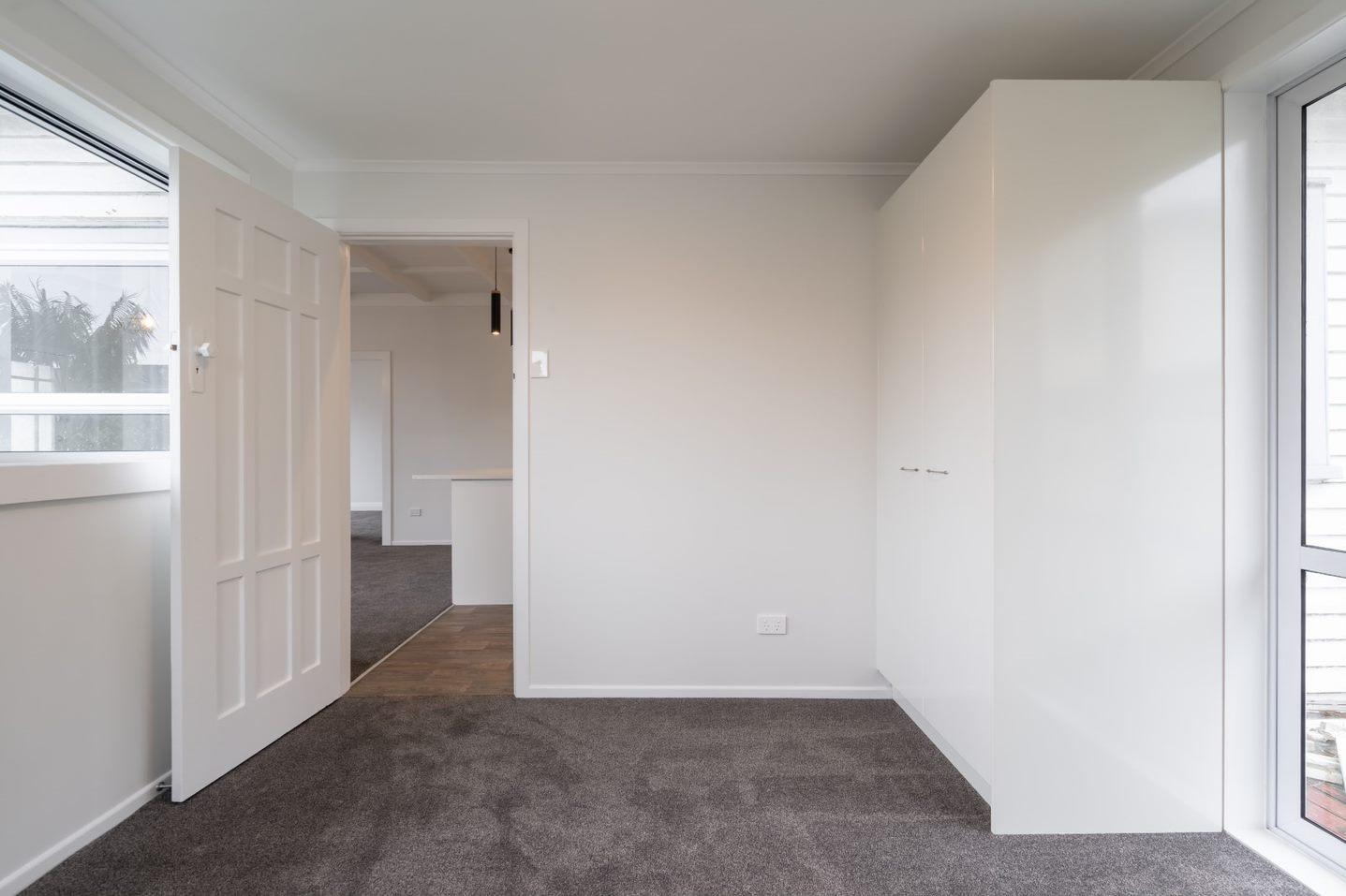 newly created bedroom - Papatoetoe renovation
